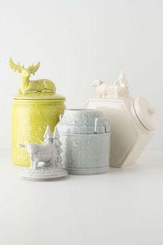 Alpine Wanderers Cookie Jar, Ram - anthropologie.com
