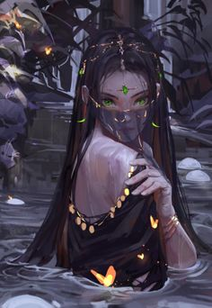 Discover recipes, home ideas, style inspiration and other ideas to try. Beautiful Fantasy Art, Dark Fantasy Art, Fantasy Girl, Fantasy Artwork, Anime Art Fantasy, Fantasy Character Design, Character Inspiration, Character Art, Anime Art Girl