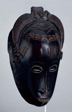 Guro dance mask, Ivory Coast