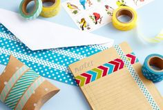 4 Easy Ways to Craft with Washi Tape