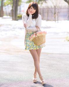 写真:西尾花菜さん 美人スナップ