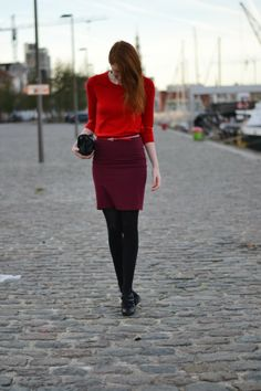 All the red things: The outfit
