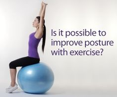 True or False? Exercise can improve posture. Find the answer in our FootSmart blog post.