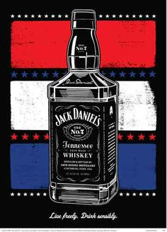 Handmade JackDaniel's poster.