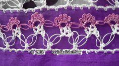 Yeni Zincir İşi Tığ Oyası Örneği - New Chain Crochet Crochet Example of ...