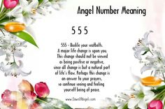 Numerology: Angel Numbers 555 Meaning | #numerology #angelnumbers