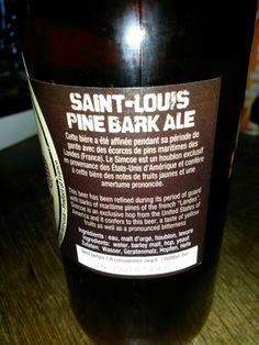 brasserie de saint-louis. pine bark ale, 6.7%