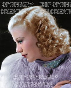 GINGER ROGERS Wearing Lavender Boa | Beautiful 8x10 COLOR PHOTO by CHIP SPRINGER. Featured Ebay Listing. Please visit my Ebay Store, Legends of the Silver Screen, at http://legendsofthesilverscreen.com to see the current listings of your favorite Stars now in glorious color! Thanks for looking and check out my Youtube videos at https://www.youtube.com/channel/UCyX926rA5x4seARq5WC8_0w