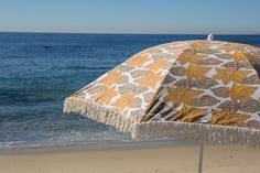 Kerry Cassill - Luxury Indian printed Bedding and Apparel — BEACH UMBRELLA