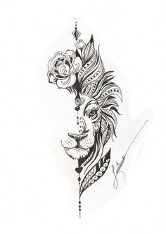 Cute Thigh Tattoos, Floral Thigh Tattoos, Hip Tattoos Women, Leo Tattoos, Spine Tattoos, Body Art Tattoos, Sleeve Tattoos, Tattoo Thigh, Tattoo Drawings