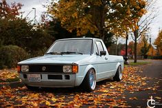 Probably my favorite mk1, soooo unique. Btw any one heard anything about the eurowise vr6 swap kit? That would be a sick project for a caddy