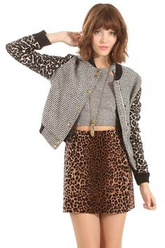 Sugarlips Cool Cat Bomber Jacket - Beyond cool beyond cat status. The purrfect blend of cute and badass.