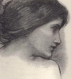 John William Waterhouse sketch