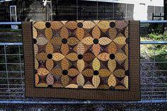 Motif: Été Susans couette motif par pièces primitifs par