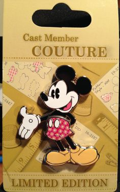 Cast Exclusive- Couture Mickey - Limited edition 500