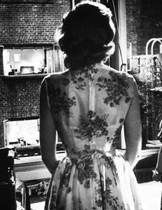 """deforest: """"Grace Kelly on the set of Rear Window (1954) """""""