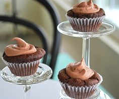 two parts sweet: Chocolate Cupcakes Recipe-Vegan and Gluten Free