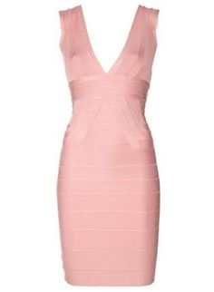 Pink Sleeveless Bandage Dress,  Dress, Bandage Bodycon Women Evening, Chic