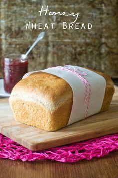 Honey Wheat Bread Tastes of Lizzy T