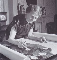 """Madge Gill (1882–1961) was an English mediumistic artist who made thousands of drawings """"guided"""" by a spirit she called """"Myrninerest"""" (my inner rest)."""