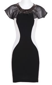 How super slimming is this dress for a curvy girl!?!