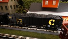MTH Spotlight mthtrains.com/...     MTH Premier O Gauge 4-Bay Hopper. Road names include Chessie 20-97821, Pittsburgh & Lake Erie 20-97822, Burlington Northern 20-97823, and SOO Line 20-97824. 2015 V2 Single Hoppers have a MSRP of $64.95, 6-Car Set has a MSRP of $349.95. All Premier 4-Bay Hopper Cars Operate on O-31 Curves. Ask your MTH Dealer about getting some today.