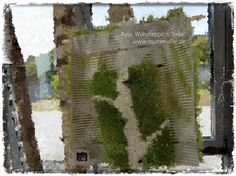 Ein kleiner Birkenzweig wird zum Wandteppich. Als DIY-Nähset erhältlich.
