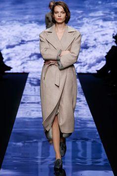 Max Mara Fall 2015 Ready-to-Wear Fashion Show - Mina Cvetkovic