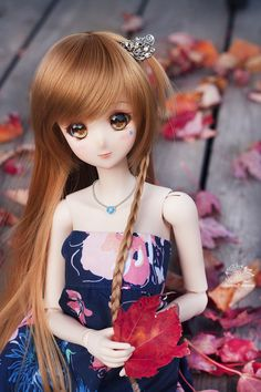 Smart doll Mirai #canada #autumn #doll_photography