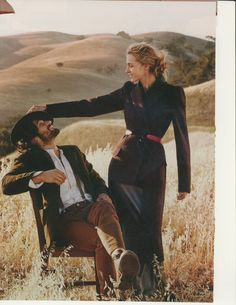 Valentina Zelyaeva & Michiel Huisman by Will Davidson for Glamour US August 2014