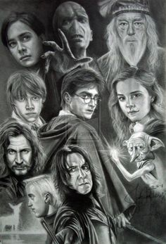 Harry Potter by mysteriousnumb