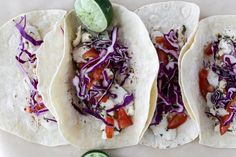 We got the best fish tacos in a little fishing village in Mexico. I have tried to recreate them as best as possible Spicy Recipes, Fish Recipes, Seafood Recipes, Mexican Food Recipes, New Recipes, Cooking Recipes, Favorite Recipes, Ethnic Recipes, Vegetables