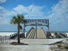 MEXICO BEACH FLORIDA BABY!!!!