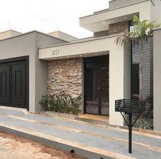 28 Trendy ideas for apartment facade design home House Design, New Homes, House Styles, Facade Design, Contemporary House Design, House Entrance, House Front Design, Modern House Exterior, House Exterior