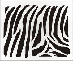 Texture STENCIL Wild Animal Zoo Zebra Tiger Cheeta Giraffe Cow Giraffe Honeycomb