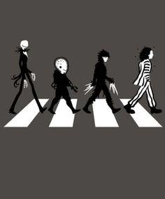 Tim Burton Abbey Road                                                                                                                                                      More