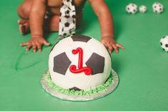 soccer cake smash Dallas
