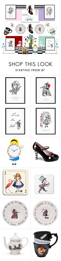 """""""Alice Through the Looking Glass'"""" by dianefantasy ❤ liked on Polyvore featuring interior, interiors, interior design, home, home decor, interior decorating, Eleanor Stuart, Progetti, Funtasma and Avenida Home"""