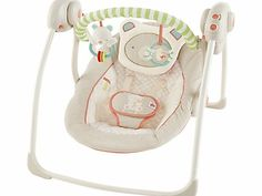 Bright Starts Beary Smiles Portable Baby Swing The Beary Smiles Portable Swing is made from extra soft fabrics and has a removable head support for babys comfort. Thanks to its patented TrueSpeed technology, this portable swing automatically recog http://www.comparestoreprices.co.uk/baby-toys/bright-starts-beary-smiles-portable-baby-swing.asp