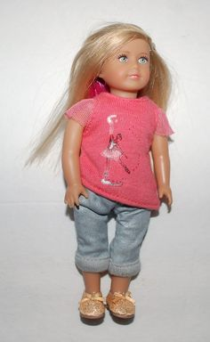 "American Girl Mini Doll Isabelle Girl Of The Year 2014 6"" GOTY EUC #Dolls"