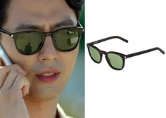 "Jo In-Sung 조인성 in ""It's Okay, That's Love"" Episode 8. Saint Laurent Classic 28 Sunglasses #Kdrama #ItsOkayThatsLove 괜찮아, 사랑이야 #JoInSung"