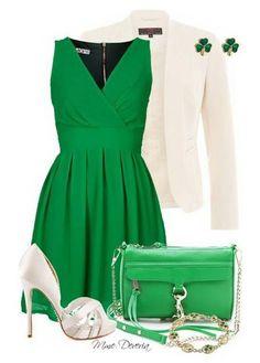 Green, White, Shamrock