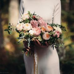 elegant wedding bouquet букет невесты