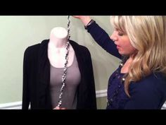Betsy Jansey Premier Designs Ribbon with necklaces.MOV