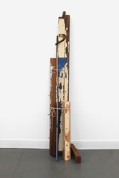 Susan Collis, Gas Boys, 2012 See website for materials - too many to name! Amy Sillman, Art Object, Artist At Work, Ladder Decor, Minimalism, Contemporary Art, Abstract Art, Sculptures, Scene