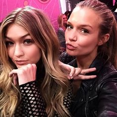 Behind the scenes at the Victoria's Secret Fashion Show!
