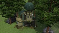 Crowkeeper@MTS - The start of an inventor's dream #Sims3
