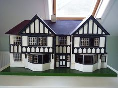 Dolls House made by Triang.Date stamped 1936 in Dolls & Bears, Dolls' Miniatures & Houses, Dolls' Houses | eBay
