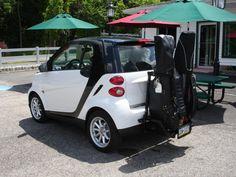 Smart Fortwo Golf Bag Rack Car Bags