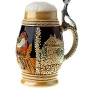 German beer steins...
